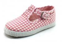 Stoute-schoenen.nl Cienta 51000 bandschoen Roze CIE04