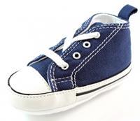 Stoute-schoenen.nl Converse babyschoenen online First Star Blauw ALL30