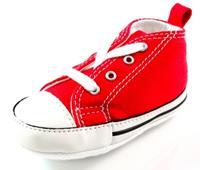 Stoute-schoenen.nl Converse babyschoenen online First Star Rood ALL31