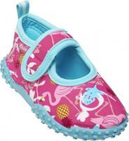 playshoes waterschoenen Flamingo meisjes turquoise/roze
