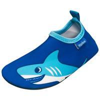 Playshoes Badschoen Hai uni blauw - Blauw - - Jongen