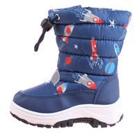 Playshoes Winter Boatie Ruimte marine - Blauw - - Jongen
