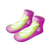Beco zwemsokken Sealife meisjes neopreen roze/groen 25