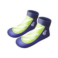 Beco zwemsokken Sealife jongens neopreen blauw/groen 25