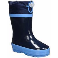 Playshoes regenlaarzen basic streep donkerblauw /21