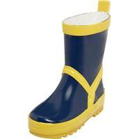 Playshoes regenlaarzen marineblauw/geel /21