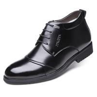 newchic Men Stylish Cap To Warm Plush Lining Lace Up Business Formal Ankle Boots