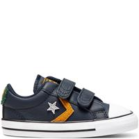 Converse Toddler Leather Twist Easy-On Star Player Low Top