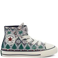 Converse Holiday Sweater Easy-On Chuck Taylor All Star High Top voor peuters