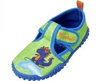 Playshoes waterschoen Dino jongens antislip roze/blauw 8 19