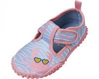Playshoes waterschoen Krebs meisjes antislip roze/blauw  33