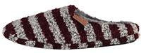 Apollo pantoffels Home Slippers heren textiel rood/grijs