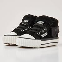British knights ROCO Baby jongetjes sneakers hoog - Zwart