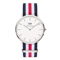 Daniel Wellington Horloge Classic Canterbury silver 40 mm 0202DW