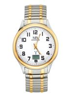 Radiografisch herenhorloge bicolor Meister Anker Zilverkleur