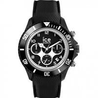 Ice-Watch IW014222 ICE Dune - Silicone - Black - Exrta Large horloge