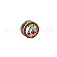 Piercings.nl Tunnel kers 10 mm 10 mm