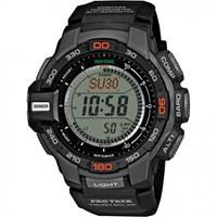 Casio PRO TREK Triple sensor versie 3 TOUGH zonne Horloge PRG-270-1A - Zwart