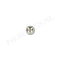 Piercings.nl Balletje 1.2 mm titanium