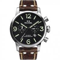 TW STEEL MS13 Maverick chronograaf horloge 45 mm