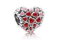 Pandora Bedel zilver Heart Explosion of Love 796557ENMX