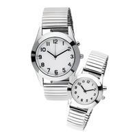 Klingel Dames- en herenhorloge  zilverkleur