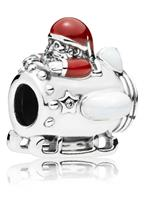 Pandora 797511ENMX Bedel zilver Santa in Space