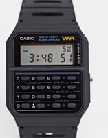 casio CA-53W-1ER - Digitaal horloge met rekenmachine in zwart