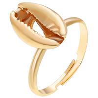 lgtjwls Dames ring Sea Shell Verstelbaar Goudkleurig