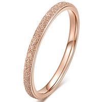 lgtjwls Dames ring LGT Jewels Stardust Rose Verguld Edelstaal-18mm