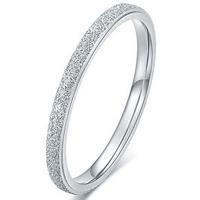 lgtjwls Dames ring LGT Jewels Stardust Edelstaal Zilverkleurig-16mm