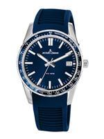 Jacques lemans Horloge  Donkerblauw
