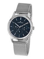 Jacques lemans Horloge  Zilverkleur