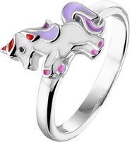 The Jewelry Collection Ring Eenhoorn - Zilver - Maat 13.50