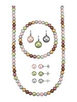 Klingel 8-delige sieradenset  Multicolor