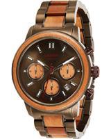 Laimer Chronograaf MIKAEL U-0169, bruin, voor Heren, 4260498093335, EAN: U-0169
