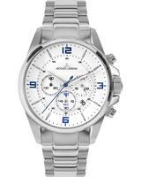 Jacques Lemans Chronograaf Sport 1-2118E, wit, voor Heren, 4040662164296, EAN: 1-2118E