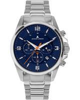 Jacques Lemans Chronograaf Sport 1-2118F, blauw, voor Heren, 4040662164302, EAN: 1-2118F