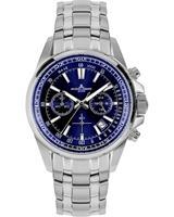 Jacques Lemans Chronograaf Sport 1-2117K, blauw, voor Heren, 4040662164197, EAN: 1-2117K