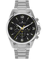 Jacques Lemans Chronograaf Sport 1-2118D, zwart, voor Heren, 4040662164289, EAN: 1-2118D