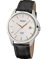 Regent Heren horloges 11110691, zilver, voor Heren, 4045346088912, EAN: 11110691