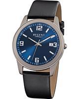 Regent Heren horloges 11190152, zilver, voor Heren, 4045346088189, EAN: 11190152