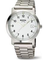Boccia Heren horloges 3630-01, zilver, voor Heren, 4040066252629, EAN: 3630-01