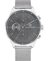 Tommy Hilfiger Heren horloges 1791484, zilver, voor Heren, 7613272273800, EAN: 1791484