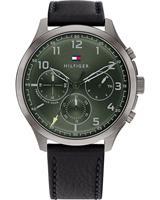 Tommy Hilfiger Heren horloges 1791856, grijs, voor Heren, 7613272426251, EAN: 1791856