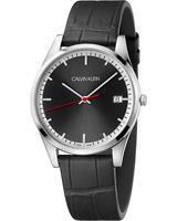 Calvin Klein Heren horloges K4N211C1, zwart, voor Heren, 7612635128252, EAN: K4N211C1