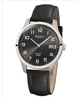 Regent Heren horloges 11190162, zilver, voor Heren, 4045346088837, EAN: 11190162