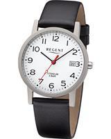 Regent Heren horloges 11190181, zilver, voor Heren, 4050597190314, EAN: 11190181