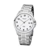 Regent Heren horloges 11150641, zilver, voor Heren, 4050597184139, EAN: 11150641