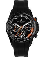 Jacques Lemans Chronografen 1-2127D, zwart, voor Heren, 4040662164708, EAN: 1-2127D